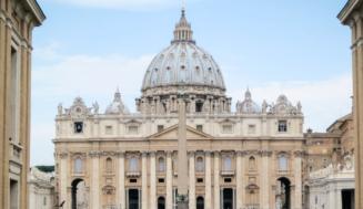 Církevní svatba v Římě